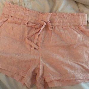 LOFT paper bag shorts